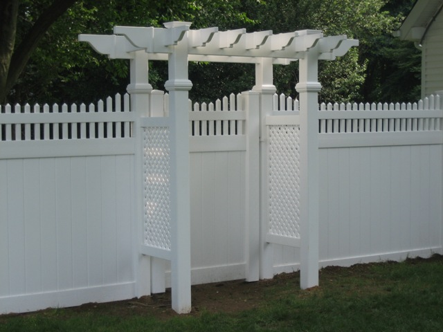 All Star Fence and Landscaping offers some of the most attractive Vinyl  Arbors and Pergolas on the market. Vinyl Arbors free you from all  maintenance, ... - Arbors And Pergolas - All Star Fence And Landscaping
